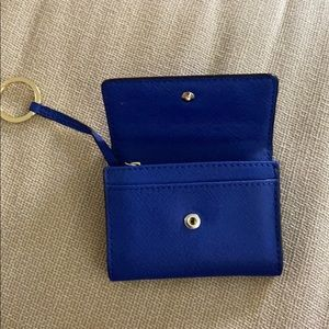 Michael Kors Small Blue Wallet